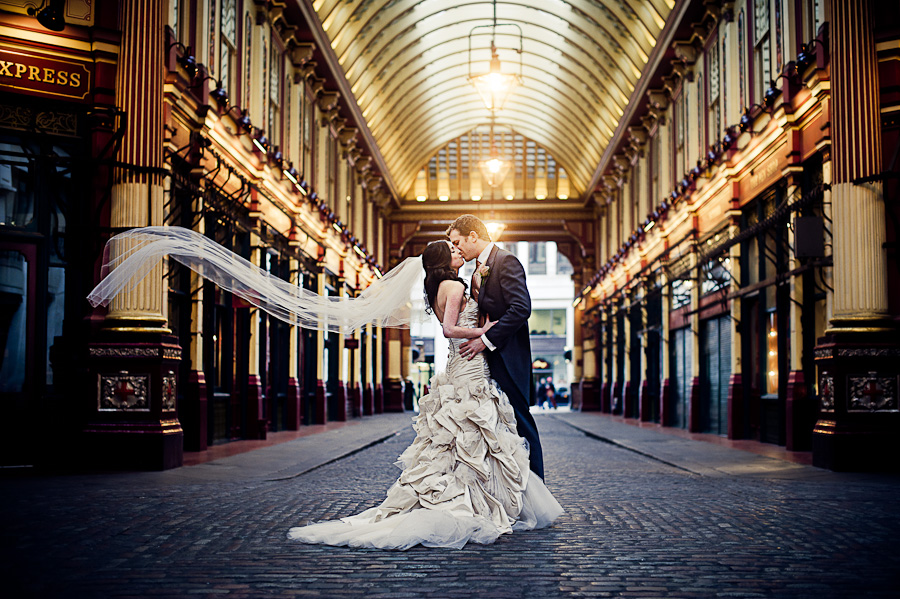 Wedding photography in St Mary Axe Gherkin London